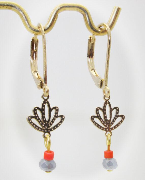Ohrringe Lotus, bonitaperla