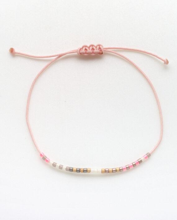 Armband Harlekin Rosé